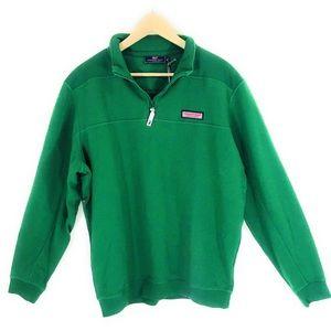 Vineyard Vines   Green Pullover Sweater Medium